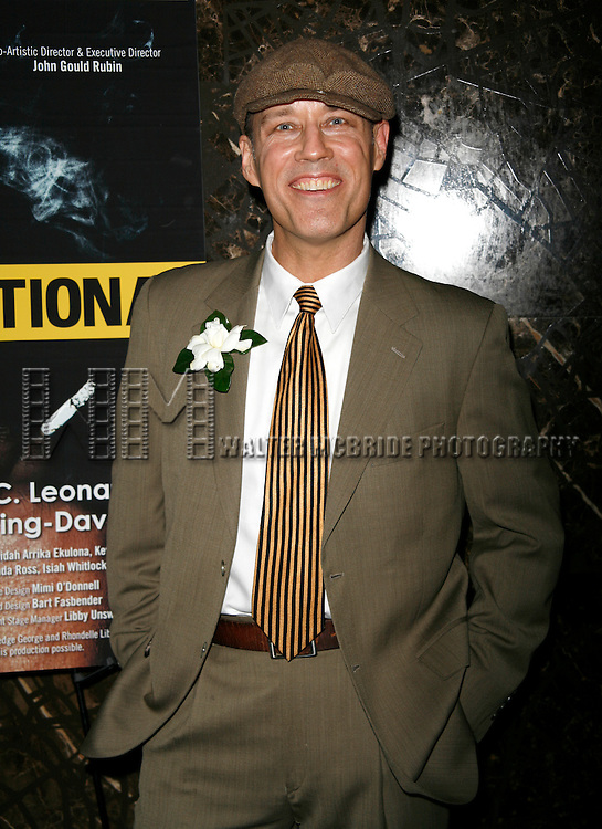 Kevin Geer attending the Opening Night for the Labyrinth Theater Company's World Premiere of a New Play UNCONDITIONAL at the Public Theatre with an after party at Colors Restaurant in New York City.<br /> February 18, 2008