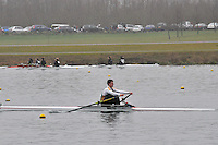 070 WindsorBoysSch J17A.1x..Marlow Regatta Committee Thames Valley Trial Head. 1900m at Dorney Lake/Eton College Rowing Centre, Dorney, Buckinghamshire. Sunday 29 January 2012. Run over three divisions.
