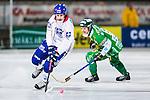 Stockholm 2013-11-26 Bandy Elitserien Hammarby IF - Edsbyns IF :  <br /> Edsbyn Mattias Hammarstr&ouml;m i aktion <br /> (Foto: Kenta J&ouml;nsson) Nyckelord: