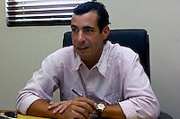 Domingo Bermudez, presidente del cana de television Color Vision..Lugar:Ciudad de Bonao Provincia Mon Señor Noel.Foto:Cesar de la Cruz.Fecha:.