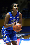 26 October 2014: Oderah Chidom. The Duke University Blue Devils held their annual Blue-White Game at Cameron Indoor Stadium in Durham, North Carolina in preparation of the upcoming 2014-15 NCAA Division I Women's Basketball season.