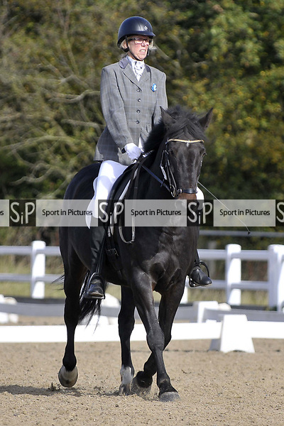 Class 2. Unaffiliated Dressage. Brook Farm training centre. Essex. 30/09/2017. MANDATORY Credit Garry Bowden/Sportinpictures - NO UNAUTHORISED USE - 07837 394578