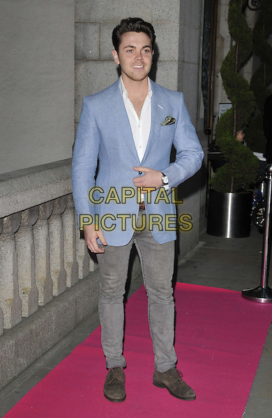 LONDON, ENGLAND - OCTOBER 02: Ray Quinn attends the Inspiration Awards For Women 2014, Cadogan Hall, Sloane Terrace, on Thursday October 02, 2014 in London, England, UK. <br /> CAP/CAN<br /> &copy;Can Nguyen/Capital Pictures
