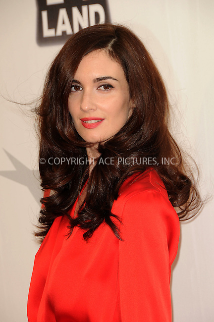WWW.ACEPIXS.COM . . . . .  ....June 9 2011, Los Angeles....Actress Paz Vega arriving at the 2011 AFI Lifetime Achievement Awards honoring Morgan Freeman held at Sony Picture Studios on June 9, 2011....Please byline: PETER WEST - ACE PICTURES.... *** ***..Ace Pictures, Inc:  ..Philip Vaughan (212) 243-8787 or (646) 679 0430..e-mail: info@acepixs.com..web: http://www.acepixs.com