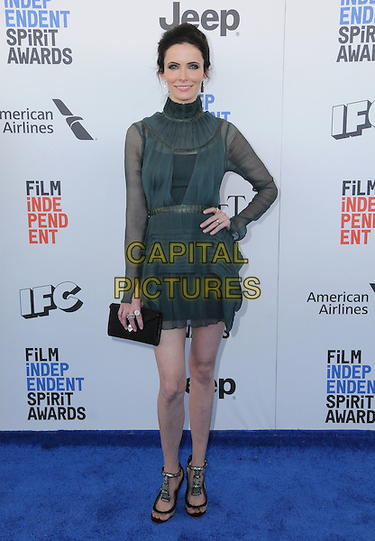 25 February 2017 - Santa Monica, California - Bitsie Tulloch. 2017 Film Independent Spirit Awards held held at the Santa Monica Pier.  <br /> CAP/ADM/BT<br /> &copy;BT/ADM/Capital Pictures