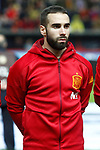 Spain's Daniel Carvajal during FIFA World Cup 2018 Qualifying Round match. March 24,2017.(ALTERPHOTOS/Acero)