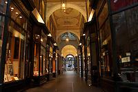 Shopping arcade near the Rathaus, Hamburg, Germany