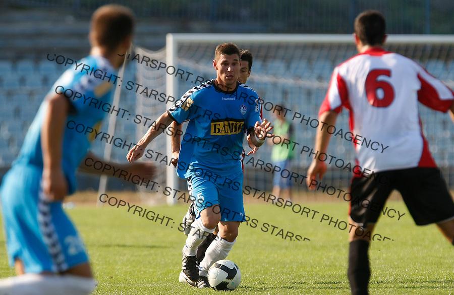 Fudbal, Lav Kup Srbije, season 2009-2010.BSK Borca Vs. Sevojno.Zoran Knezevic.Beograd, 09.23.2009..foto: Srdjan Stevanovic/Starsportphoto.com ©