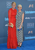 Busy Philipps &amp; Michelle Williams at the 22nd Annual Critics' Choice Awards at Barker Hangar, Santa Monica Airport. <br /> December 11, 2016<br /> Picture: Paul Smith/Featureflash/SilverHub 0208 004 5359/ 07711 972644 Editors@silverhubmedia.com