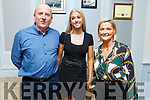 John, Ellie and Joan McElligott from Ballymac attending the Kerry Ladies Award Evening in the Rose Hotel on Saturday.