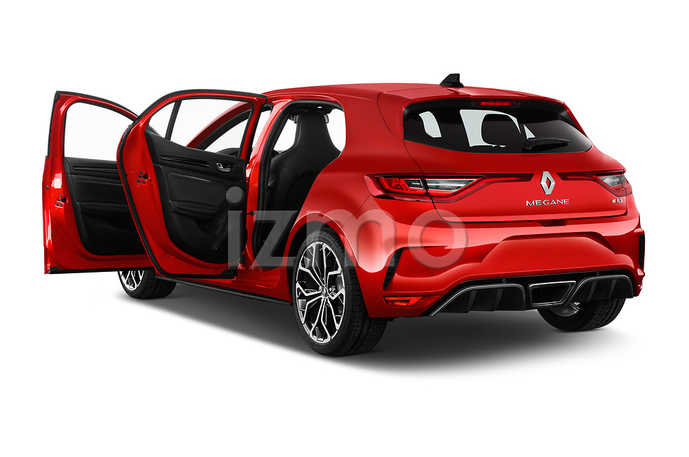 Car images close up view of a 2018 Renault Megane R.S. base 5 Door Hatchback doors