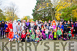 A Large turn out at the  Tralee's Run in the Park Halloween 5km fancy dress run on Saturday