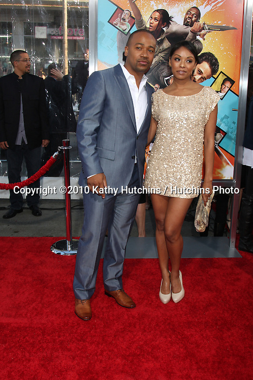 """Columbus Short.arrives at """"The Losers"""" Premiere.Grauman's Chinese Theater.Los Angeles, CA.April 20, 2010.©2010 Kathy Hutchins / Hutchins Photo..."""