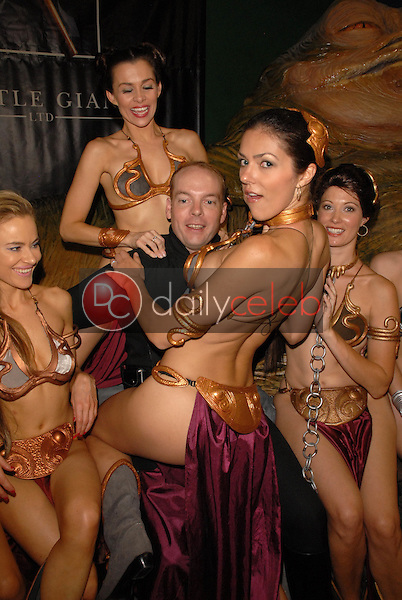Paula Labaredas, Alicia Arden, Jamin Fite, Adrianne Curry, Natalie Atkins and Annisse<br />