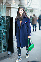 Fei Fei Sun at Milan Fashion Week (Photo by Hunter Abrams/Guest of a Guest)