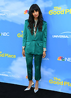 "07 June 2019 - North Hollywood, California - Jameela Jamil. FYC Event for NBC's ""The Good Place"" held at Saban Media Center at the Television Academy. <br /> CAP/ADM/BT<br /> ©BT/ADM/Capital Pictures"