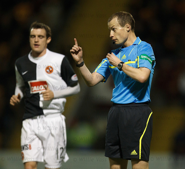 referee Willie Collum keeps order