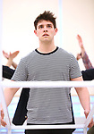 """during the rehearsal for The Kennedy Center production of """"The Who's Tommy"""" at the New 42nd Street on April 11, 2019 in New York City."""
