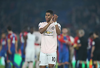 Manchester United's Marcus Rashford<br /> <br /> Photographer Rob Newell/CameraSport<br /> <br /> The Premier League - Wednesday 27th February 2019  - Crystal Palace v Manchester United - Selhurst Park - London<br /> <br /> World Copyright © 2019 CameraSport. All rights reserved. 43 Linden Ave. Countesthorpe. Leicester. England. LE8 5PG - Tel: +44 (0) 116 277 4147 - admin@camerasport.com - www.camerasport.com