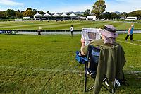 Fan before during Day 4 of the Second International Cricket Test match, New Zealand V England, Hagley Oval, Christchurch, New Zealand, 2nd April 2018.Copyright photo: John Davidson / www.photosport.nz