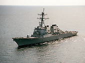 USS Cole (DDG-67) underway in the Persian Gulf in support of the SWA build-up. <br /> Mandatory Credit: Gloria J. Barry / DoD via CNP