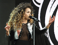 Ella Eyre performs at the Barclaycard British Summer Time at Hyde Park, London on July 9th 2016<br /> CAP/ROS<br /> &copy;Steve Ross/Capital Pictures /MediaPunch ***NORTH AND SOUTH AMERICAS ONLY***