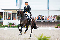 NED-Edward Gal (GLOCK'S UNDERCOVER NOP) FINAL-2ND: INTERCHEM PRIJS GRAND PRIX FREESTYLE CDIO5*: 2014 NED-CHIO Rotterdam (Saturday 21 June) CREDIT: Libby Law COPYRIGHT: LIBBY LAW PHOTOGRAPHY - NZL