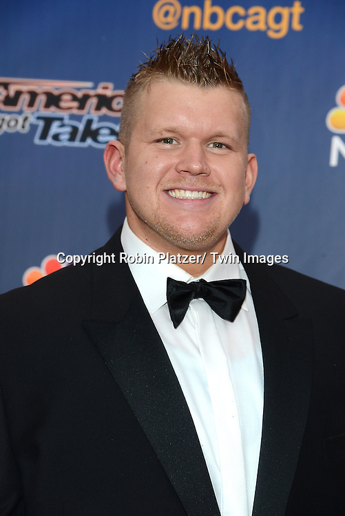 """JD Anderson attends the kick off  of Season 9's live voting rounds of """"America's Got Talent""""  at Radio City Music Hall on July 29, 2014 in New York City."""