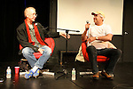 Carl Arnheiter interviews Tom Davis and Chevy Chase at Sketchfest NYC, 2010. UCB Theatre