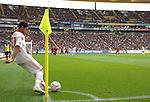 25.09.2010, Commerzbank-Arena, Frankfurt, GER, 1. FBL, Eintracht Frankfurt vs 1.FC Nuernberg, im Bild Mehmet Ekici (Nuernberg #37) beim Eckball, Foto © nph / Roth