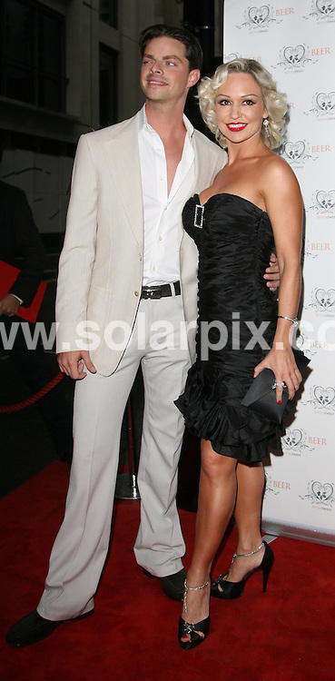 **ALL ROUND PICTURES FROM SOLARPIX.COM**.**WORLDWIDE SYNDICATION RIGHTS**.Guests attend the Bittersweet Partnership - Summer Garden Party at The Sanctum Hotel, Wardour Street, London, UK. 26 August 2009...This pic: Kristina Rihanoff..JOB REF: 9814 LNJ    DATE: 26_08_2009.**MUST CREDIT SOLARPIX.COM OR DOUBLE FEE WILL BE CHARGED**.**MUST NOTIFY SOLARPIX OF ONLINE USAGE**.**CALL US ON: +34 952 811 768 or LOW RATE FROM UK 0844 617 7637**