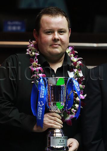 04.-03.2012. Haikou, China.  Mark Allen thrashed Stephen Lee 10-1 in the final to win his first ranking title at the Star Xing Pai Haikou World Open.