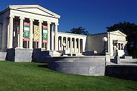 art museum, Buffalo, NY, New York, Albright-Knox Art Gallery a Greek Revival building.