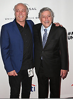 10 February 2019 - Los Angeles, California - Danny Bennett, Tony Bennett. Universal Music Group GRAMMY After Party celebrating the 61st Annual Grammy Awards held at The Row. Photo Credit: Faye Sadou/AdMedia
