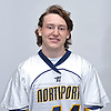 Connor Cronin of Northport poses for a portrait during Newsday's 2017 varsity boys lacrosse season preview photo shoot at company headquarters on Saturday, March 25, 2017.