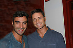 "Reichen Lehmkuhl (R) on Days of Our Lives and Young and Restless and one of the winners of Amazing Race Season 4 poses with Rodiney Santiago - both star in ""The A-List New York"" on Logo as Rodiney stars in Parker & Dizzy's Fabulous Journey to the End of the Rainbow at the 15th Annual Fringe NYC, (The New York International Fringe Festival) in August 12 to August 28 2011 at the Ellen Stewart Theatre, NYC, NY.  (Photo by Sue Coflin/Max Photos)"