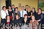 Dunnes Killarney staff at their Christmas party in Dromhall Killarney on Saturday night front row l-r: Joan Kelleher, Sheila Murphy, Margaret O'Connor, Eileen Nagle. Back row: Siobhain Kelleher, Maura Culloty, Pat Sheehan, Ann Nagle, Richard Smithwick, Tim Long, Francine Breen, Sandra Breen, Eileen O'Sullivan and Maureen Steinbeck   Copyright Kerry's Eye 2008
