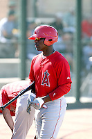 Chevez Clarke - Los Angeles Angels - 2010 Instructional League.Photo by:  Bill Mitchell/Four Seam Images..