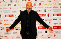 Maurizio Battista  attends at the professional days of cinema in Sorrento december 01 , 2014