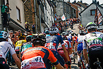 The peleton climb La Cote de Saint-Roch in Houffalize during the 104th edition of La Doyenne, 2018 Liège - Bastogne - Liège (UCI WorldTour), Belgium, 22 April 2018, Photo by Thomas van Bracht / PelotonPhotos.com