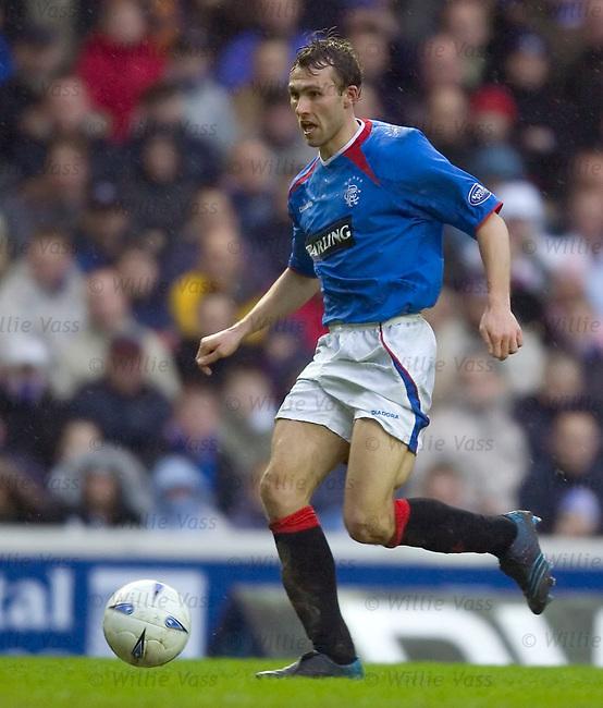 Thomas Buffel, Rangers.stock season 2004-2005.pic willie vass