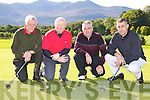Mick Clifford, Donal O'Reilly, Mick Leahy and Derek Healy who played in the Gene Cronin President's prize in Castlerosse on Sunday..