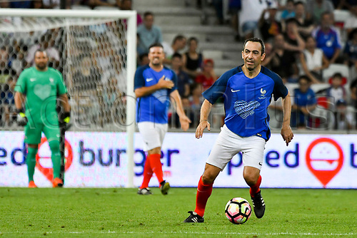 June 17th 2017; Allianz Riviera, Nice, France; Legends football international, France versus Italy;  youri Djorkaeff (France)