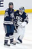 Ryan Donald (Yale - 25), Billy Blase (Yale - 30) - The Boston College Eagles defeated the Yale University Bulldogs 9-7 in the Northeast Regional final on Sunday, March 28, 2010, at the DCU Center in Worcester, Massachusetts.
