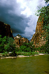 UT: Utah; Zion National Park, Emerald Pools       .Photo Copyright: Lee Foster, lee@fostertravel.com, www.fostertravel.com, (510) 549-2202.Image: utzion219.