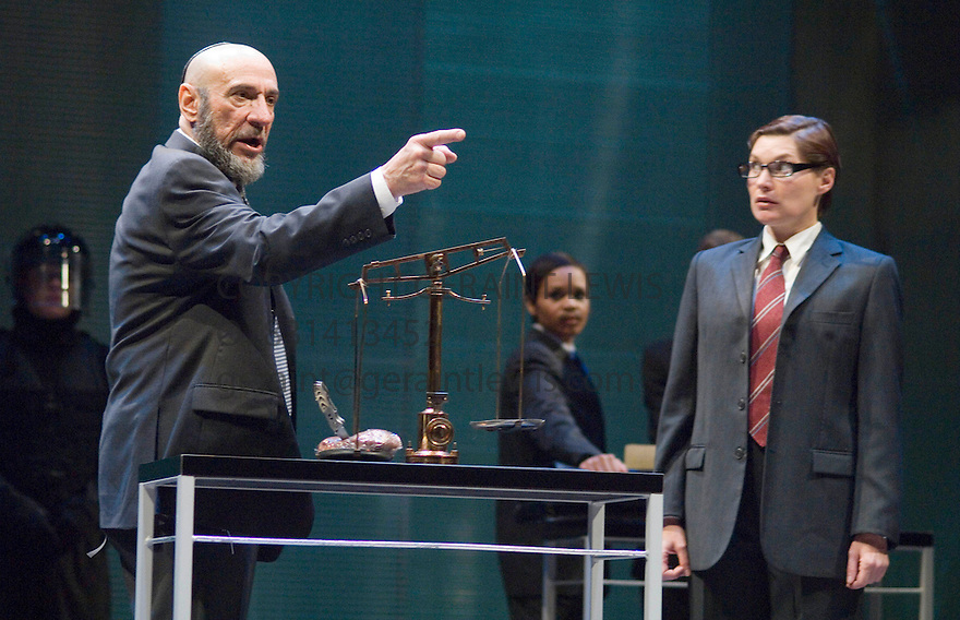 The Mechant of Venice by William Shakespeare , A Theatre For A New Audience Production directed by Darko Tresnjak. With F Murray Abraham as Shylock, Kate Forbes as Portia . Opens at the Swan Thratre at Statford Upon Avon on 27/3/07.   CREDIT Geraint Lewis