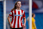 Veatriki Sarri of Sheffield United during the The FA Women's Championship match at the Proact Stadium, Chesterfield. Picture date: 12th January 2020. Picture credit should read: James Wilson/Sportimage