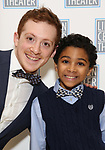 Erthan Slater and Emeka Guindo attends the Camelot' Benefit Concert for Lincoln Center After Party at David Geffen Hall on March 4, 2019 in New York City.