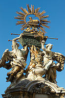 The Arch Of The Covenant Baroque Statue - ( Gy?r )  Gyor Hungary
