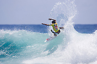 Nineteen year old Tweed Heads local indigenous surfer DALE RICHARDS (AUS) today February 26 2007, defeated a prestigious international field to win Quiksilver Pro Trials at Snapper Rocks,  Gold Coast, Queensland, Australia.  Photo: Joli